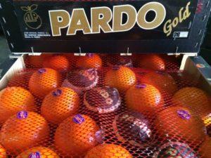 Naranjas y mandarinas Pardo Gold